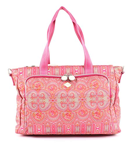 Oilily Damen Groovy Diaperbag Mhz Tote, Rot (Red), 14.5x25.5x38 cm (Tote Wickeltasche Pink Bag)