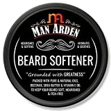 Man Arden Beard Softener - Hydrating & Nourishing with Natural Oils, Beeswax