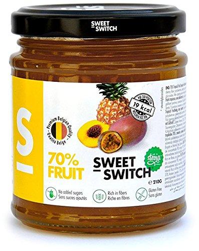 Sweet Switch - Fruchtaufstrich Tropical nur mit Stevia gesüßt - 210 g