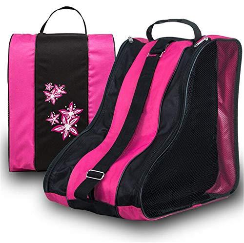 MS.REIA 40x39 cm Roller Skate Tasche Mit Reißverschluss Tragbare Turnhalle Sportschuhe Tasche Wasserdicht Für Kinder 2 STÜCKE