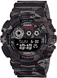 Casio G-Shock Men's Camouflage Digital Dial Resin Band W