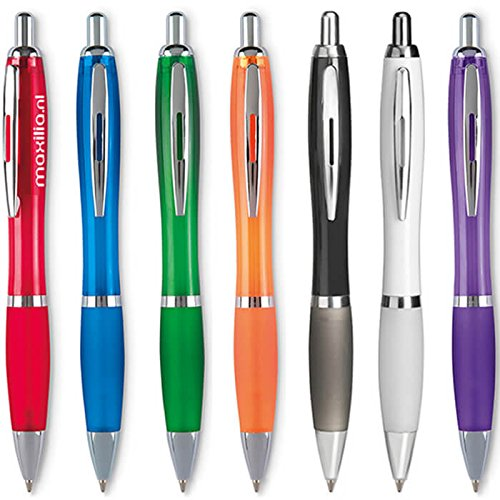 100 Kugelschreiber Bedrucken mit Logo/Druck/Werbung/Aufdruck/bedruckt Maxilia Werbeartikel