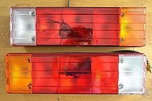 A1 2x Rücklicht Rückleuchten 12v 24v Lkw Anhänger Typ Traktor Heckleuchte 5 Kammer Leuchte Rückleuchte M Neu Rechts Links Rücklicht Anhängerleuchten E Prüfezeichen Auto