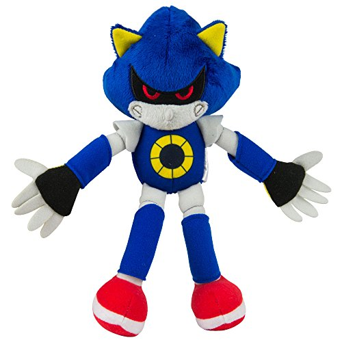 Sonic the Hedgehog T22530A1METAL 8 Inch Classic Plush – Metal