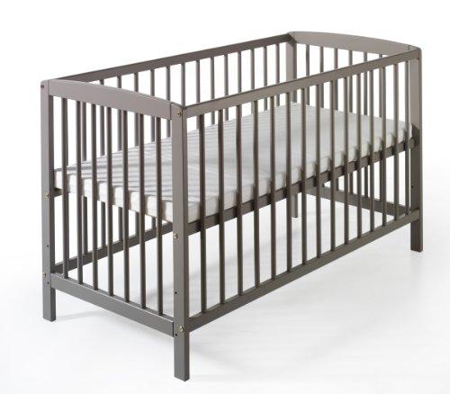 Schardt Lit Bébé - Felix - Nordic Grey - 60 x 120 cm