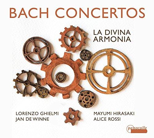 Bach : Concertos. La Divina Armonia.