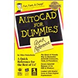 Autocad for Dummies Quick Reference by Finkelstein, Ellen (1995) Paperback