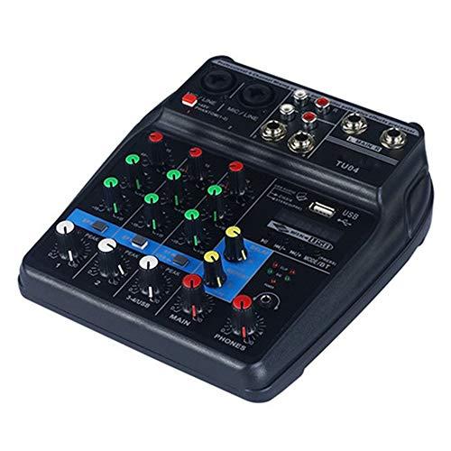 ZRK Mixer Professionale per la casa di Piccole Dimensioni con Reverb Tuning Equipment-Viene Fornito con Amplificatore USB Bluetooth per Prestazioni dal Vivo: Leggero e Portatile