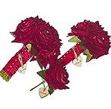 The Flower Rooms Hochzeitspaket mit Rosen und Strasssteinen