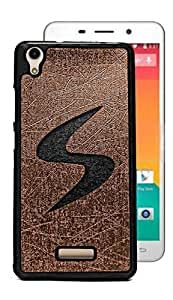 ECellStreet Exclusive Rubberised Soft Back Case Cover Back Cover for Lava Iris X9 - Black in Brown