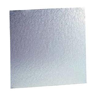 Plaque isolante 600 °C 2 faces aluminium 500x500 mm