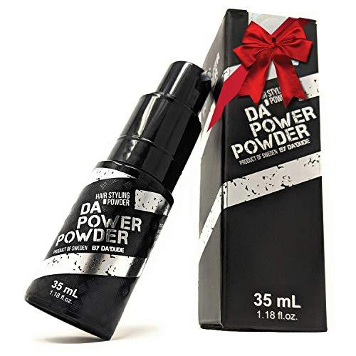 DaDude Da Power Powder Polvere volumizzante capelli Volume per lo styling dei capelli uomo Aumento del volume facile e velocemente con eccellente