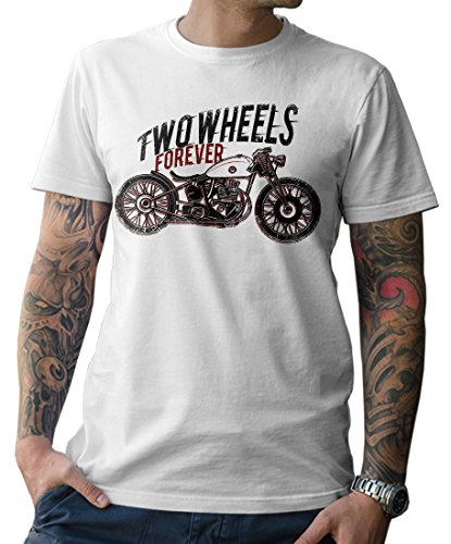 NG articlezz – T-Shirt Biker Cafe Racer Oldschool Custom Bike Gr. S-5XL