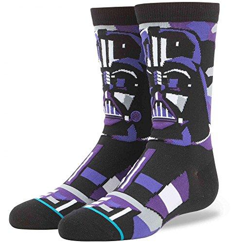 Stance x Star Wars Kids Vader Mosaic Boys Socks, Black - Youth's Skatewear Socks