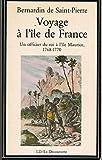 VOYAGE A L'ILE DE FRANCE.UN OFFICIER DU ROI A L'ILE MAURICE.1768-1770....