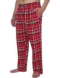 NHL Chicago Noirhawks Pour des hommesPantalon de pyjama à carreaux Automne / Hiver