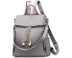 DIVING DEEP Women Fashion Shoulder Bag Rucksack PU Leather Women Girls Ladies Purse Backpack Travel School Shoulder Bag