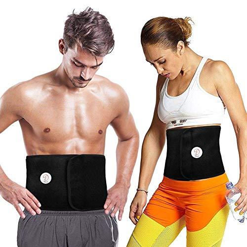 Dekool universale fascia cintura dimagrante compatibile con tutte le dimensioni per uomo e donna, corsetto per allenamento, promuove la perdita di peso brucia grassi fa sudare