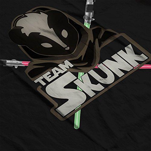 TeamSkunk Jedi Logo Classic Star Wars SWGOH Men's T-Shirt Black