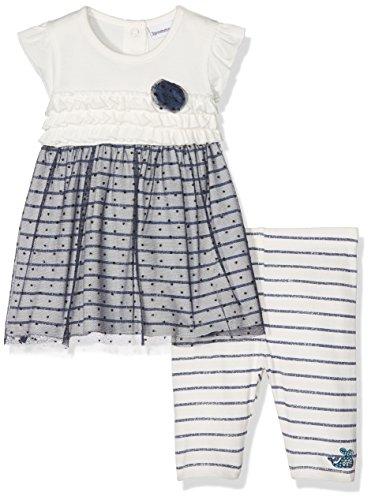 3 pommes Baby-Mädchen Unterwäsche-Set Miss Cargo, Bleu (Indigo), 0-3 Monate