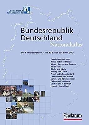 Nationalatlas Bundesrepublik Deutschland - Die Komplettversion: alle 12 Bände auf einer DVD