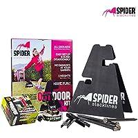 SPIDER SLACKLINE Outdoor Kit White 15 slackline juggling climbing