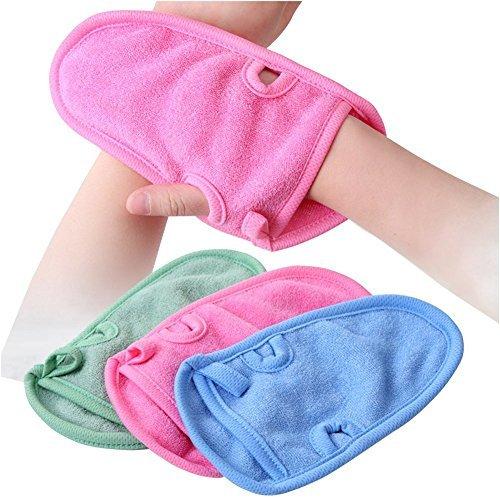 3pcs Baño gloves-unisex niños adultos ducha r baño