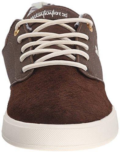 DC Men's Mikey Taylor SE Skate Shoe, Chocolate/Cream, 10 M US Chocolate/Cream