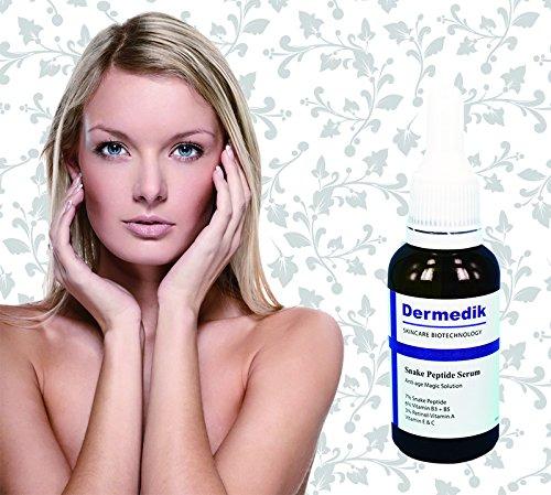 7% Serpent Peptide + 6% Vitamine B3 B5 + 3% Rétinol Vitamine A + vitamine E & C Sérum 1 oz/30ml