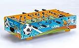 Garlando Calcio Balilla F-Mini Da Tavolo Con Aste Rientranti Blu
