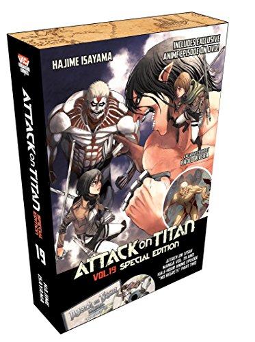 Preisvergleich Produktbild Attack on Titan 19 Special Edition w / DVD