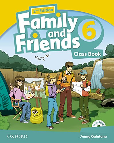 Pack: Family & Friends 6. Class Book. Student's Book - 2ª Edición (Family & Friends Second Edition) - 9780194811699