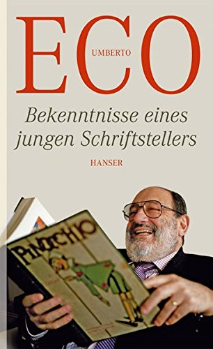 Buchseite und Rezensionen zu 'Bekenntnisse eines jungen Schriftstellers' von Umberto Eco