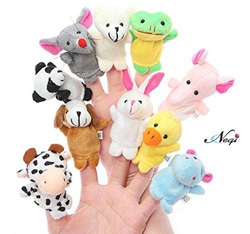 Negi Animal Finger Puppet (Pack of 10)