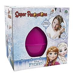 Idea Regalo - Giochi Preziosi - Super Pasqualone Frozen, Uovo con Sorprese, Multicolore 2016