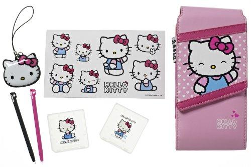 Hallo Kitty HKGAPK2 7-in-1 Zubehör Kit (Nintendo 3DS/DSi/DS Lite)