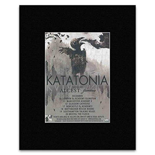 KATATONIA - December 2012 Matted Mini Poster - 13.5x10cm