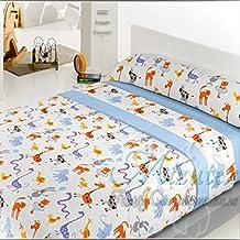 Juego de sábanas infantiles de pirineo para cama de 90, económicas Mizutex