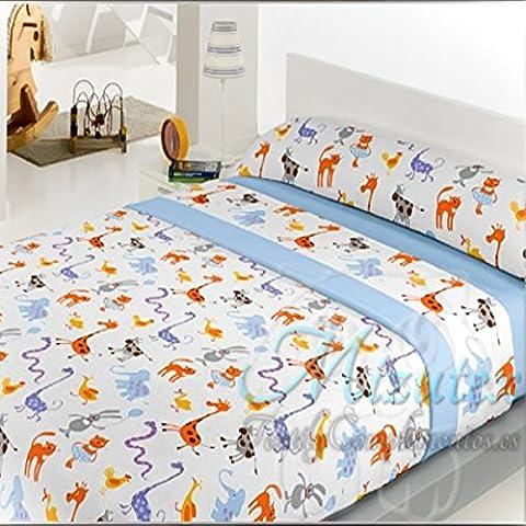 juego de sbanas infantil de coralina alta calidad para cama de