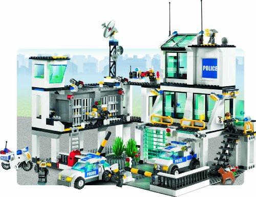 LEGO - 7744 - City - Jeux de construction - Le poste de Police