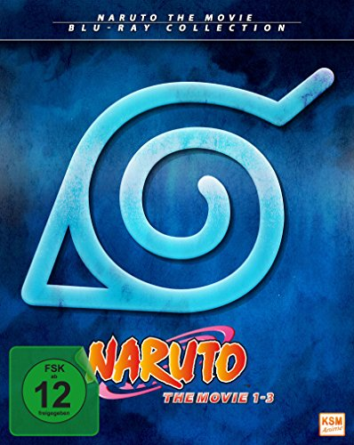 Naruto Shippuden – The Movie 1-3 [Blu-ray]