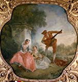 Nicolas Lancret - The Music Lesson by Nicolas Lancret