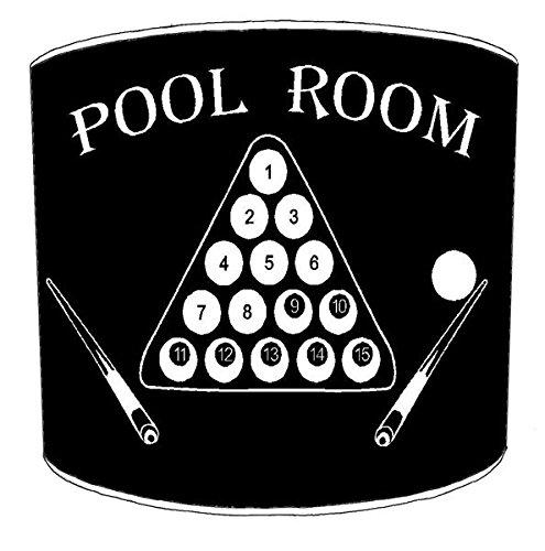 30,5cm Decke billiard, pool, snooker, 8 ball Childrens Lampenschirme 20