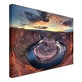 Bilderwelten Cuadro en lienzo - Colorado River Glen Canyon - Apaisado 2:3, cuadros cuadro lienzo cuadro sobre lienzo cuadro moderno cuadro decoracion cuadros decorativos cuadro xxl, Tamaño: 80 x 120cm