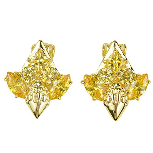 lanfan-gorgeous-imported-diamond-luxury-earrings-for-party-gold