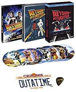 Retour vers le futur - Trilogie [Collector Blu-ray + DVD + Copie digitale + Goodies] [Collector Blu-ray + DVD + Copie digitale + Goodies] (B010VUFKBC) | Amazon price tracker / tracking, Amazon price history charts, Amazon price watches, Amazon price drop alerts