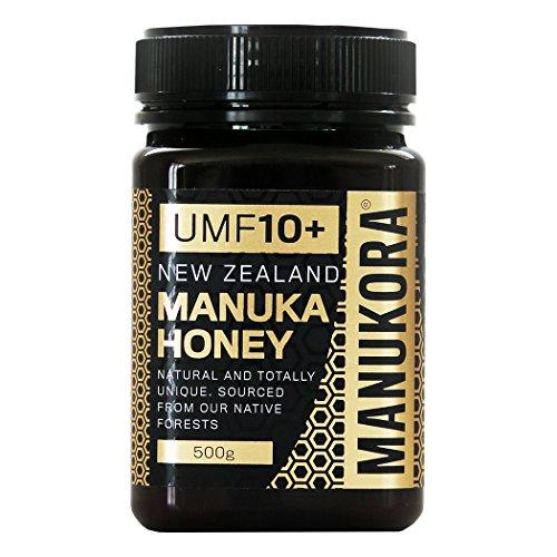 Manukora UMF 10+ (MGO 263+) Manuka Honig, 500g