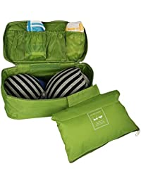 House Of Kart Women Travel Bra Underwear Lingerie Organizer Bag Cosmetic Makeup Toiletry Bag Waterproof Wash Storage...