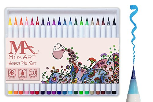 set-de-stylos-pinceaux-20-couleurs-pointe-pinceau-veritable-souple-flexible-qualite-superieure-creez