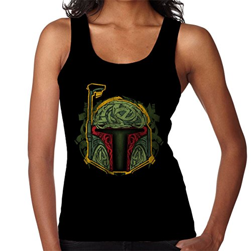 Star Wars Graffeti Women's Vest Black